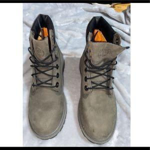 """Timberland 6"""" Boots Kids 4 Women's 5.5"""